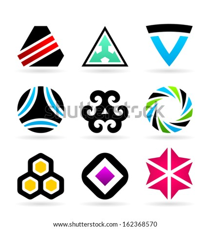 Collection Of Abstract Symbols (3)