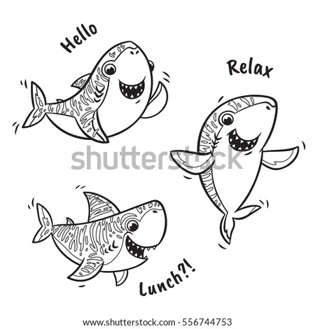 Hammerhead Shark Coloring Page shark Coloring Page Baby Shark Coloring Pages Shark Coloring Pages on halloween movie characters