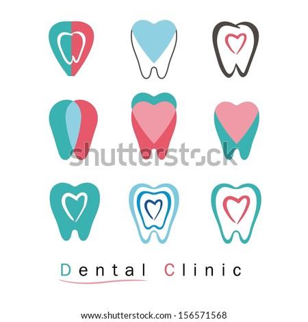Stock Vector Dental Vector Collection Download Stock Vector Collection