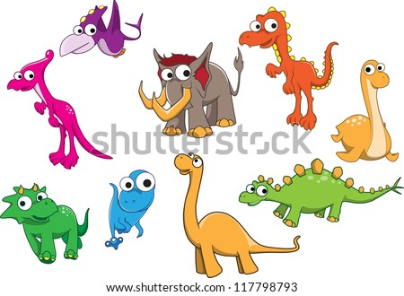 Collection of dinosaurs