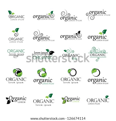Collection Of Ecology Icon. - Isolated On White Background. Vector illustration, Graphic Design Editable For Your Design. Eco Logo - stock vector