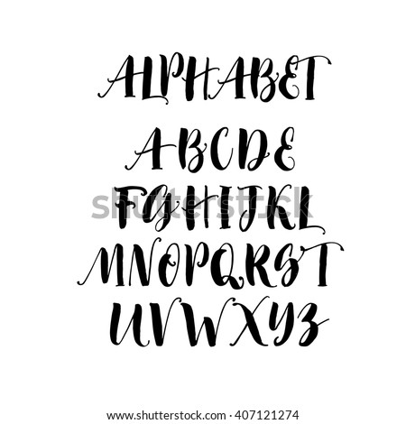 Number Names Worksheets letters of the alphabet in cursive : Cursive Alphabet Stock Photos, Royalty-Free Images & Vectors ...