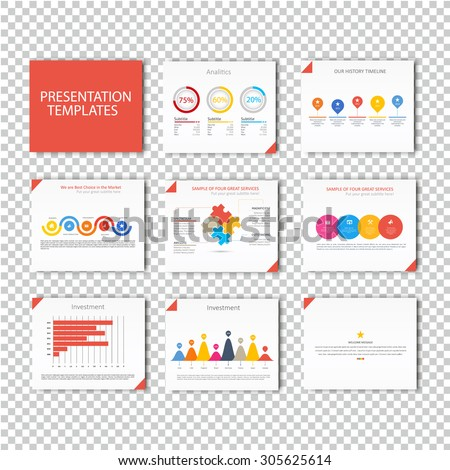Collection of infographic Template , Infographic Element , Business infographic , Layout design , Modern Style , Vector design illustration. Orange version - stock vector