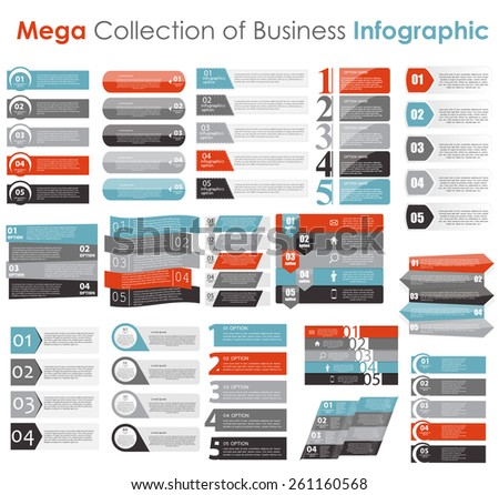 Infographic Templates Business Vector Illustration Eps10 Stock ...