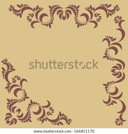 collection of patterns on a beige background