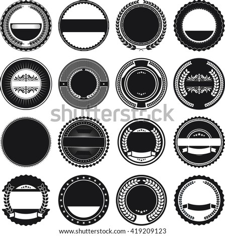 Collection of Round Border Frames