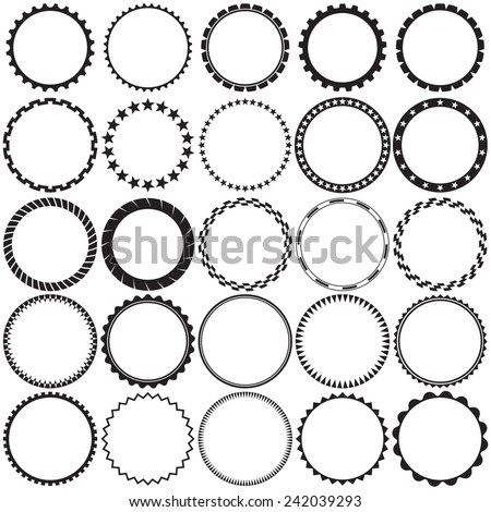 circle border stock images royalty free images vectors shutterstock. Black Bedroom Furniture Sets. Home Design Ideas