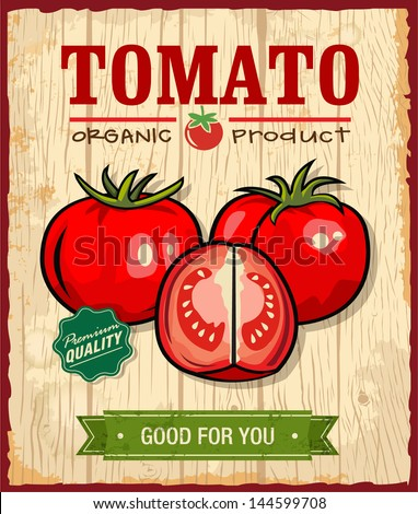 Collection of vintage retro farm labels and design elements - stock vector