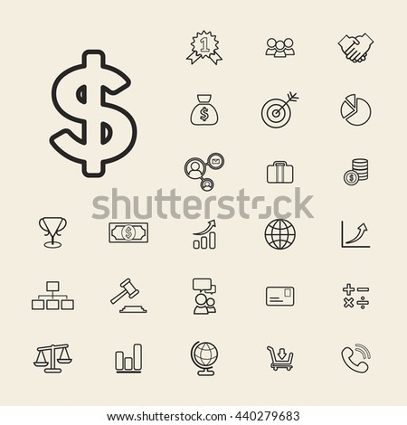 Collection Vector Financial Business Banking UI Concept