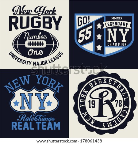 Football college logo stock images royalty free images for College football t shirt designs
