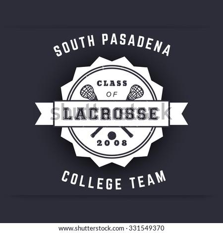 College lacrosse teams logos
