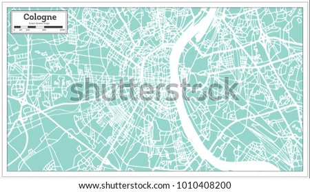 Cologne germany city map retro style stock photo photo vector cologne germany city map in retro style outline map vector illustration gumiabroncs Choice Image