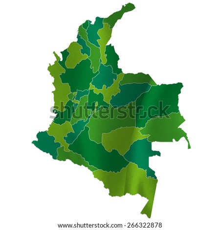 Colombia map country