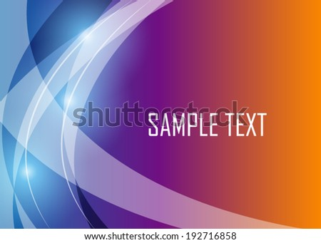 Color abstract background - stock vector