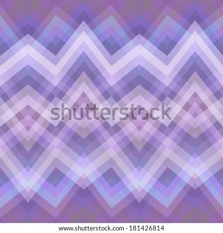 Color Abstract Retro Vector Striped Background, Fashion Zigzag Seamless Pattern - stock vector