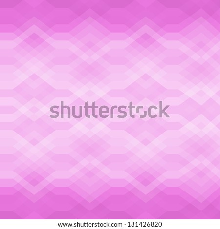 Color Abstract Retro Vector Striped Background, Fashion Zigzag Seamless Pattern of Pink Stripes - stock vector
