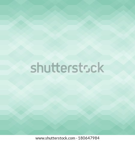 Color Abstract Retro Vector Striped Background, Fashion Zigzag Seamless Pattern of Turquoise Stripes - stock vector