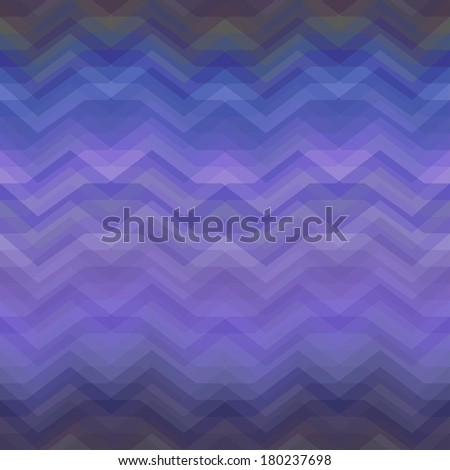 Color Abstract Retro Vector Striped Background, Fashion Zigzag Seamless Patterns of Colored Stripes - stock vector