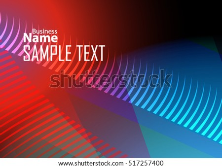 Color abstract template for card or banner. Metal Background with waves and reflections. Business background, silver, illustration. Illustration of abstract background with a metallic element