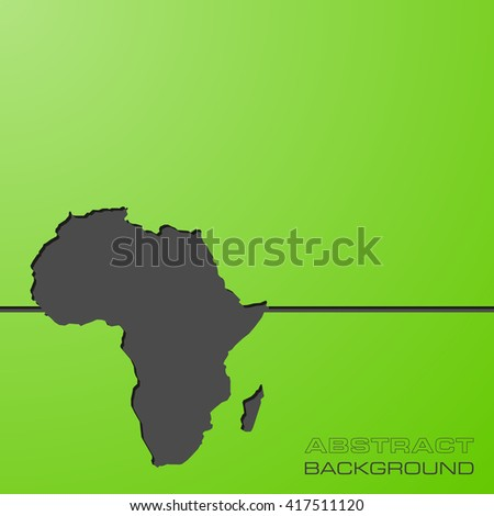 color African continent. Image  Africa Icon Vector.  Picture.Graphic.  - stock vector
