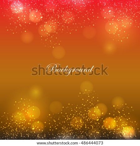 color background with bokeh design