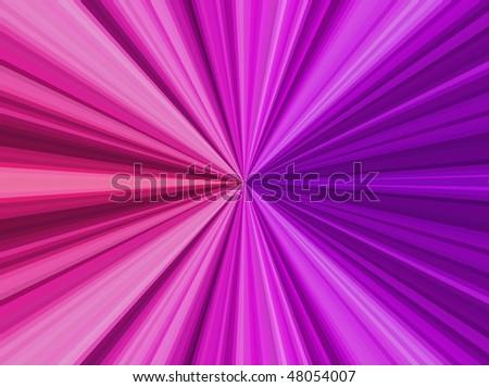 Color Burst Background (Vector) - stock vector