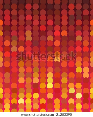 Color christmas lights - abstract background. Vector illustration