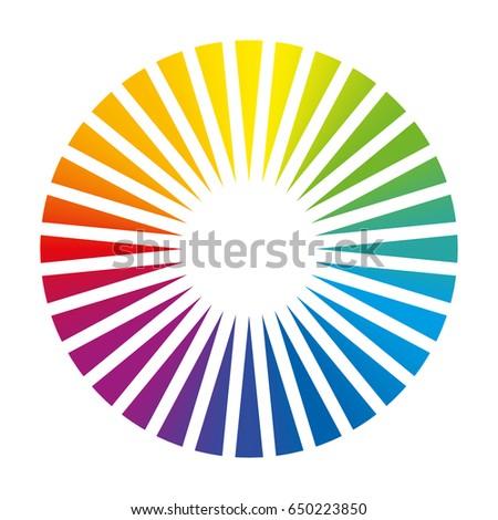 Color Circle Round Fan Deck 650223850
