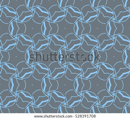 Color design geometric pattern. Seamless vector illustration blue color.