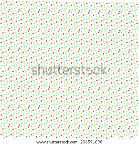 Color dot graphic effects background vector - stock vector