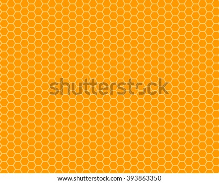 color honeycomb seamless pattern.Vector illustration. EPS 10.
