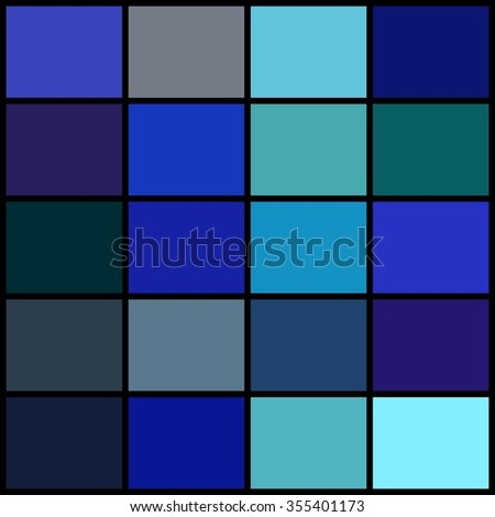 Color palette. Vector illustration