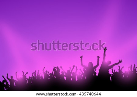 color party  - stock vector