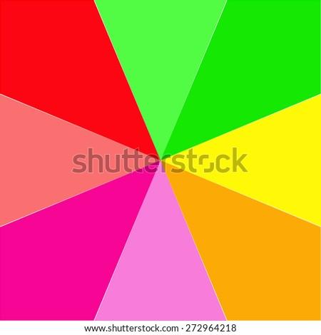 Color Spectrum Bars Background. Vector - stock vector