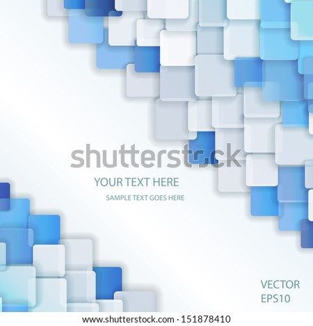 Color squares. - stock vector