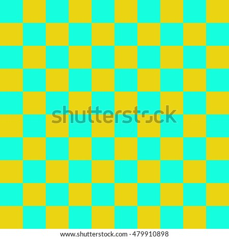 Color squares in a checkerboard pattern. Abstract background. Vector illustration.