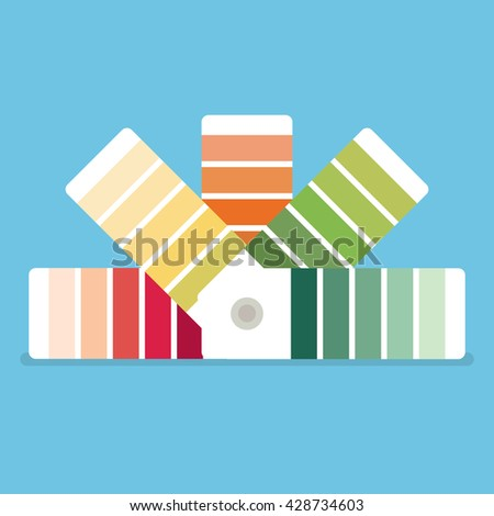 color swatches book color palette guide color swatch icon - Color Swatch Book