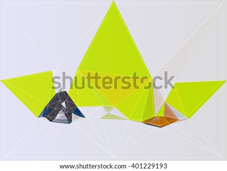 color vector backdrop design