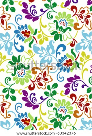 color wallpaper vector design on white background