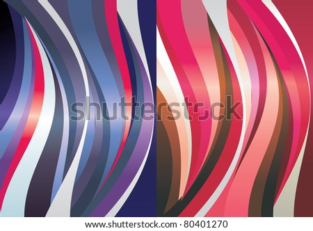 color wave texture vector
