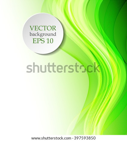 Color wavy background