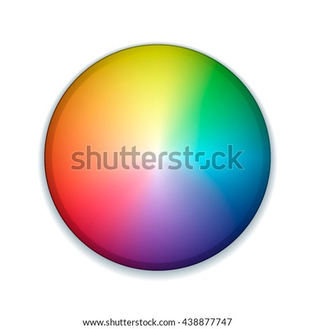 Color wheel button