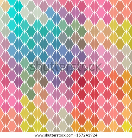 color woven textured wallpaper background - stock vector