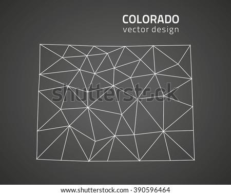 Colorado Contour Stock Photos, Royalty-Free Images & Vectors ...