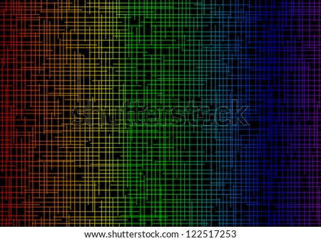 colored background in color stripes the intersecting