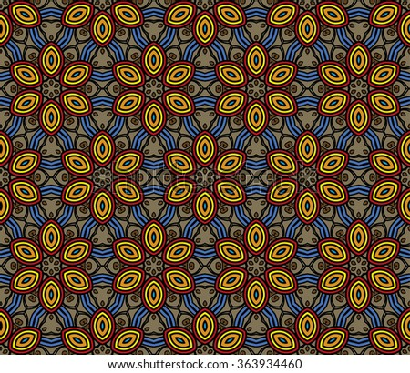 Colored geometric background.  kaleidoscope background. ?an be used for gift products, textiles, packaging. Fragments may be replicated