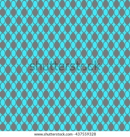 Colored Hypnotic Background Seamless Pattern. Vector Illustration. EPS10