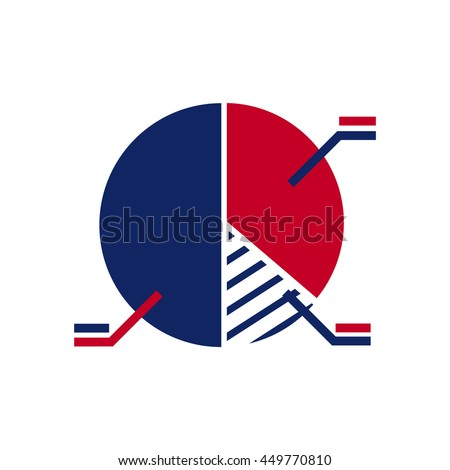 Colored information circle diagram vector illustration. Can be used for business aims as well as political, sociological and other purposes. Extensively used for Web and Mobile. - stock vector