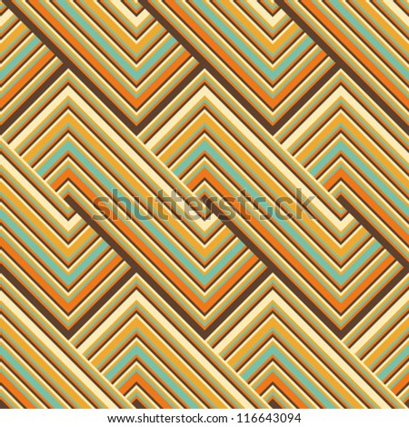 Colored lines pattern - stock vector