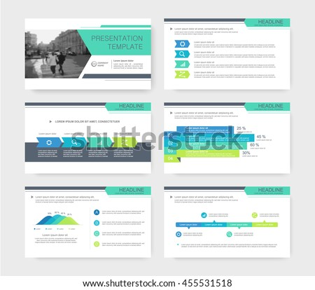 Colored presentations templates, Leaflet, Annual report, book cover design. Brochure, layout, Flyer layout template design. Vector Illustration. - stock vector